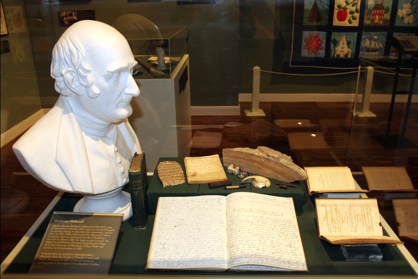 6 lyce 617 : Benjamin Hallowell one of the founders of The Lyceum and his personal journals