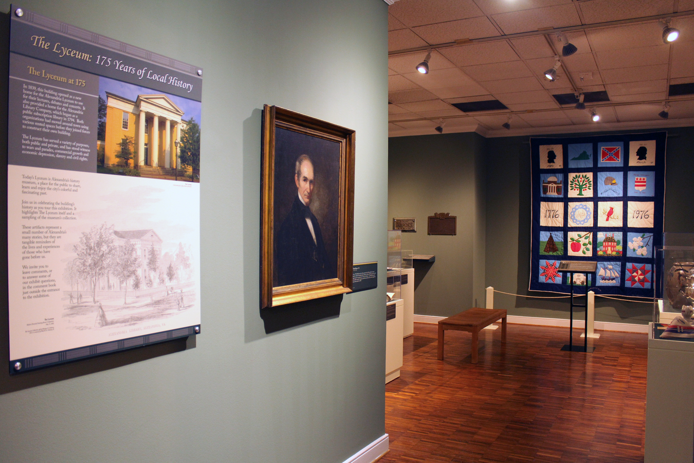 2 Lycem 4575 : Entry to the 175 years of Local History exhibit