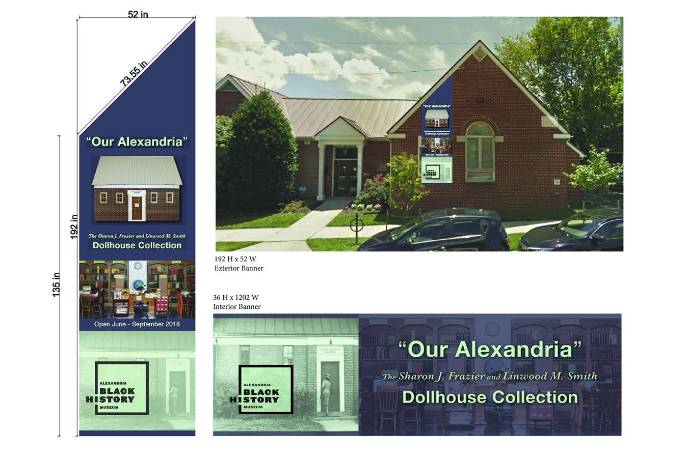 Dollhouse Banners : Exterior and Interior Banners