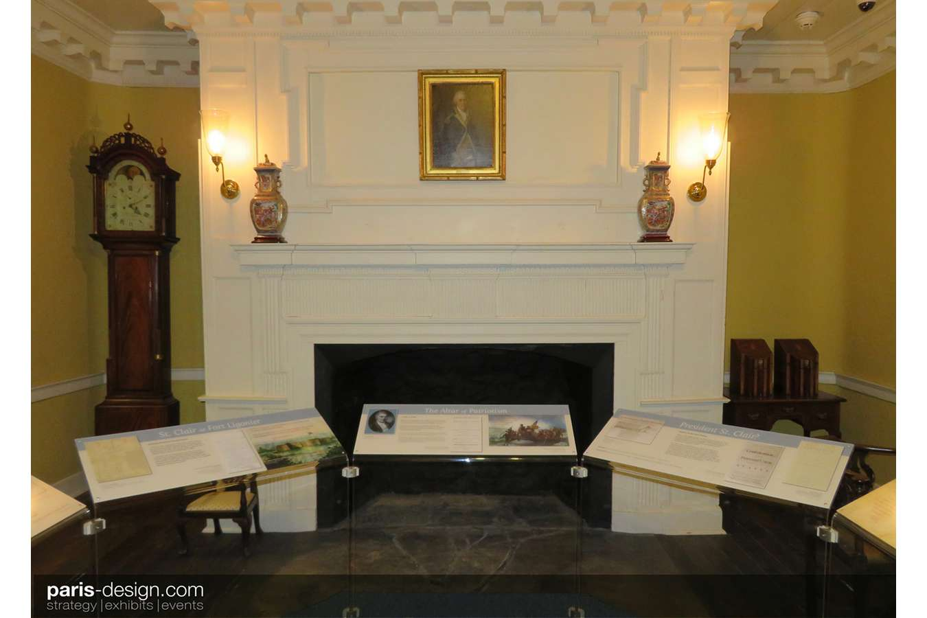 "17W parlor : The Arthur St. Clair Parlor interprets the life of this ""Forgotten Founding Father"""