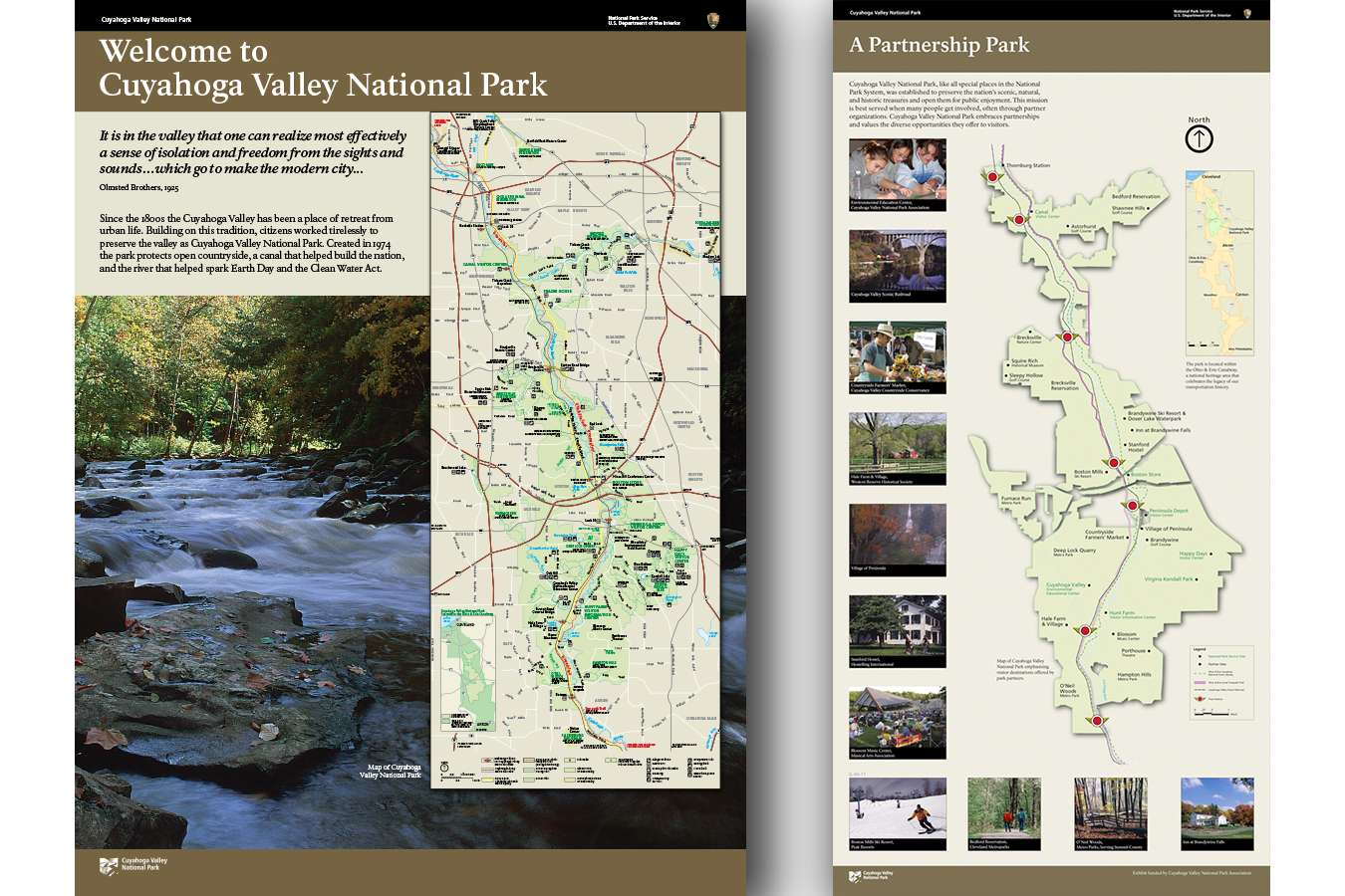 CUVA NPS3 : Partnership with local sites helps visitors plan their activities and increases use of facilities