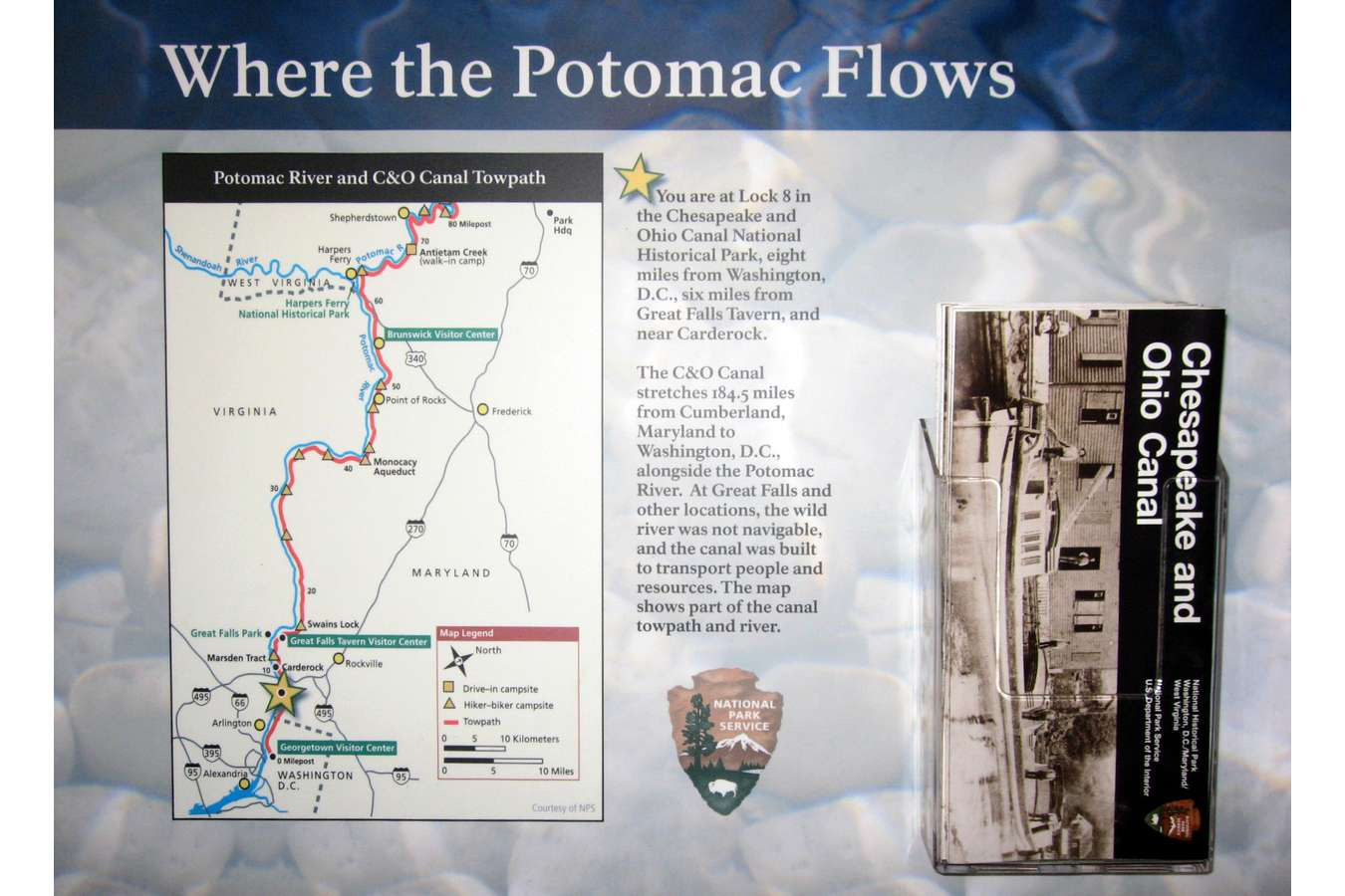 Potcy 1 : The River Center Interprets the Watershed of the Potomac River on the C&O Canal Near D.C.