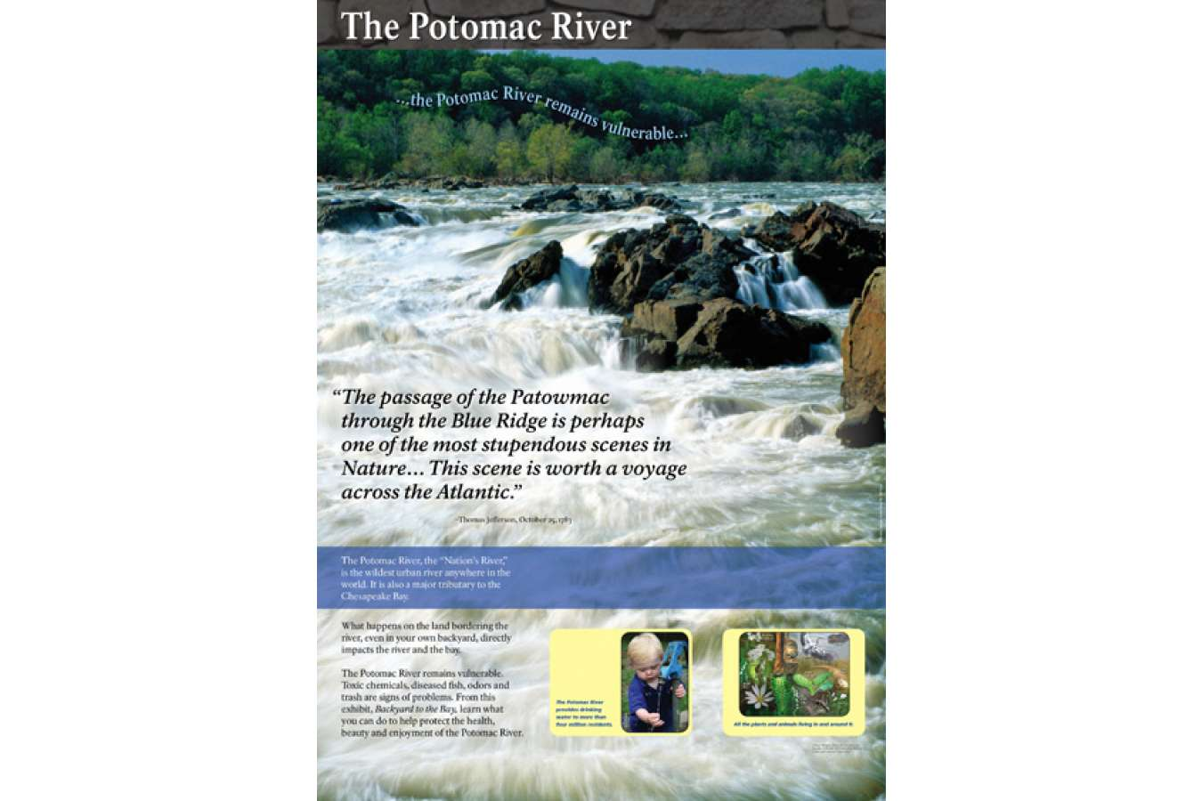 Potcy X1 : The Potomac River is the Wildest Urban River in the World.