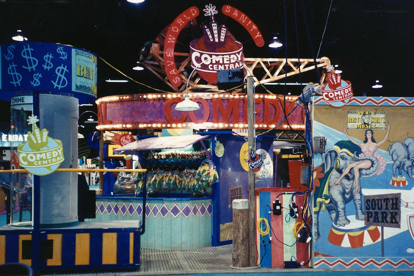 CC Carnival2 : Arcade games kept show attendees engaged and entertained