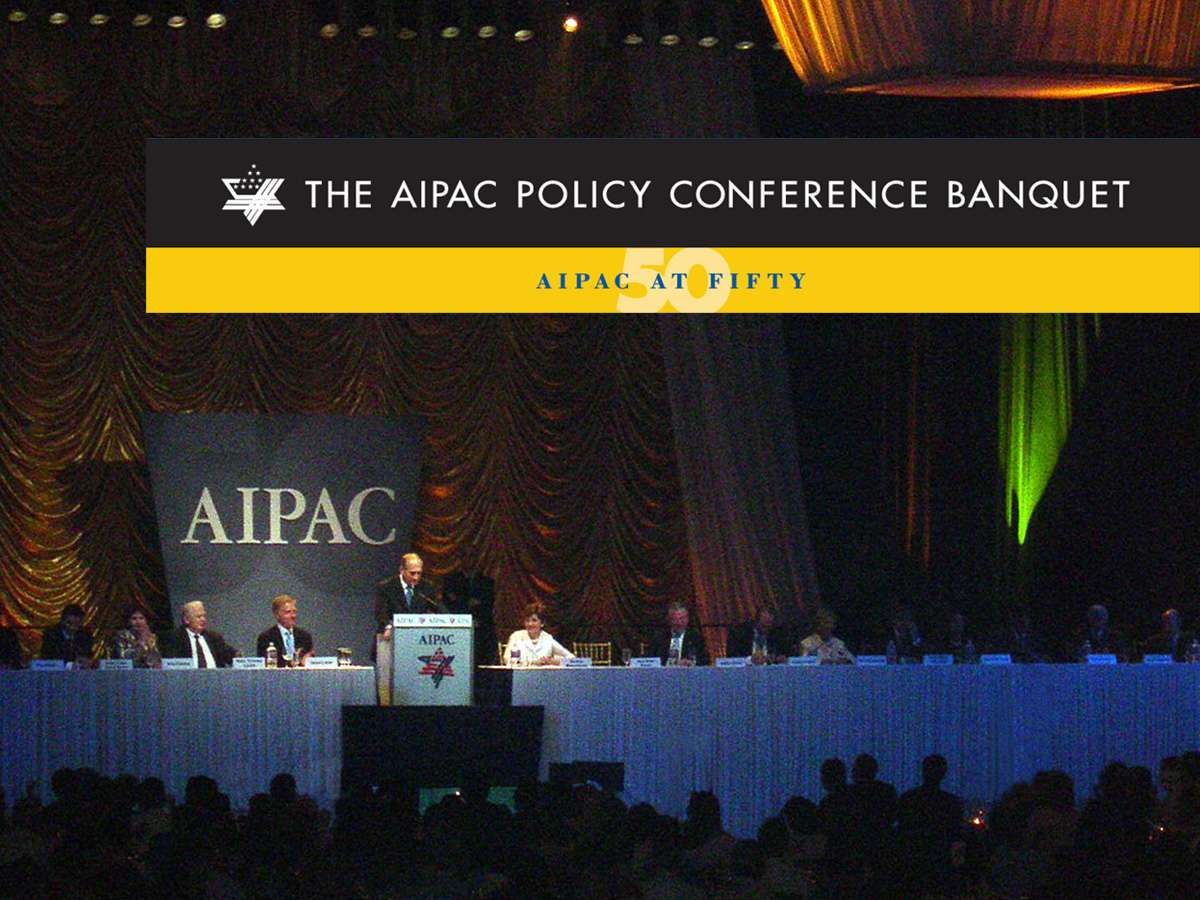 AIP 02 stage : Where else can you have world leaders speak to 5,000 people over a kosher dinner?
