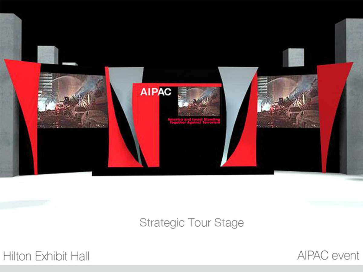 AIPST02_1Stage : Standing Together Against Terrorism Stage and Screen Set